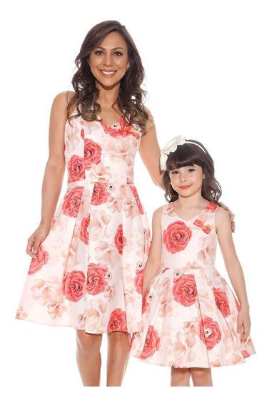 Vestido Infantil Diforini Floral