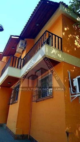 Casa Duplex À Venda Em Tanque, Jacarepaguá - Gacn40028