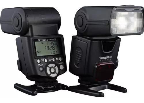 Flash Yongnuo Yn500ex Yn-500ex Speedlite Para Canon