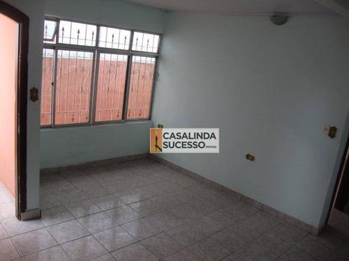 Sobrado Com 2 Dormitórios À Venda, 110 M² - Ponte Rasa - São Paulo/sp - So0244