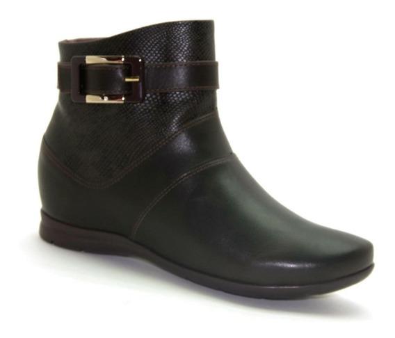 Bota Comfort Flex Cano Baixo Ankle Boot 1991302 - Envio 24 H