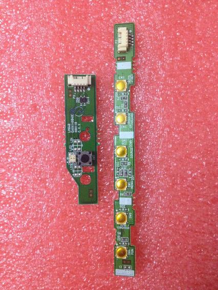 Teclado E Sensor De Standy By Monitor Lg W2252tq-pf