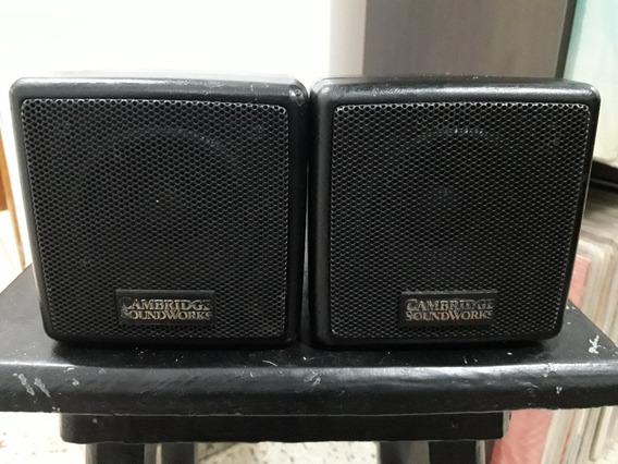 Par De Caixas De Som Cambridge Soundworks Ñ Receiver Sansui