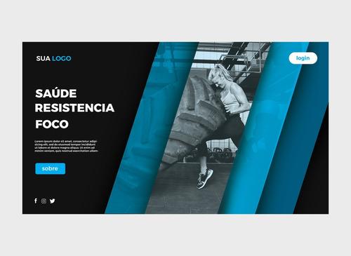 Criação De Site Profissional + Gerenciamento Fenix Studio