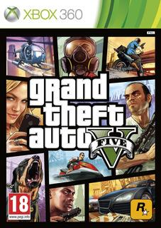 Grand Theft Auto 5 Gta V Xbox 360 --