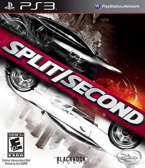 Split Second - Ps3 Psn Play 3 Pronta Entrega