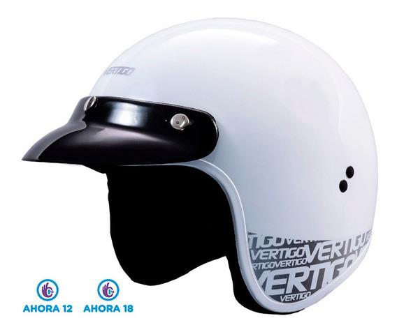 Casco Moto Abierto Vertigo Basic V10 - 12cuo