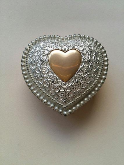 Porta Jóias Em Forma De Coração