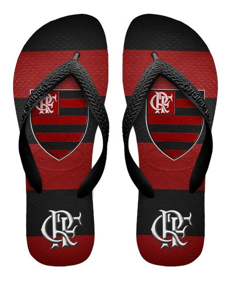 Chinelos Havaianas Personalizados Flamengo [7] Fute