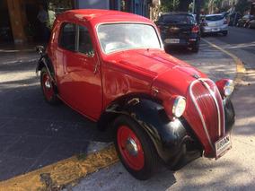 Fiat Topolino 1937 Excelente Estado Para Coleccionistas