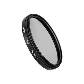 Polarização Circular Fino Polarizador De Andoer 58mm Digital