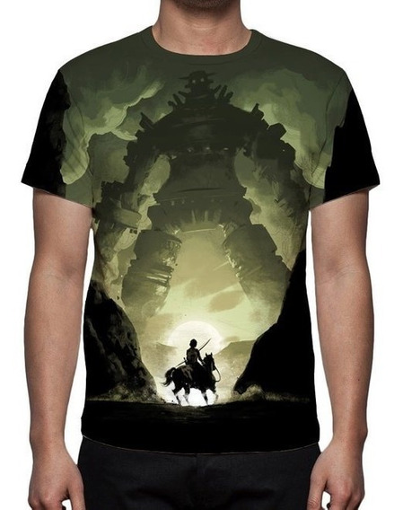 Camisa, Camiseta Game Shadow Of The Colossus Remaster