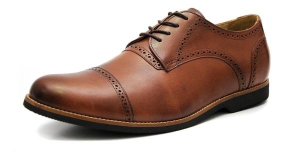 Sapato Social Masculino Oxford Europa Tamanho Especial 6815