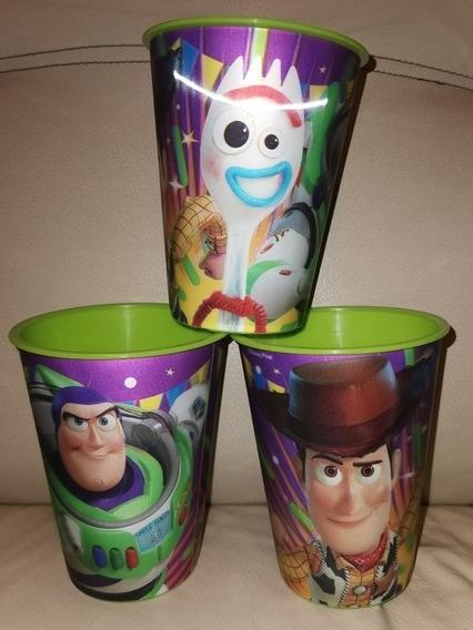 Vasos Toy Story 4 3d Recuerdo Fiestas Infantiles 10 Pzs