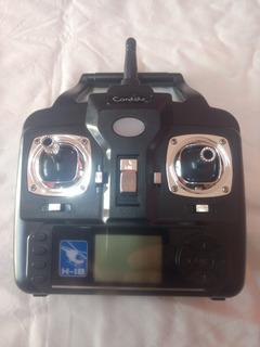 Radio Controle Drone Intruder Candide H-18 Original.
