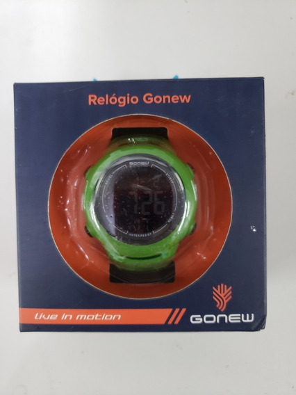 Relogio Gonew Energy Ii(rl069)