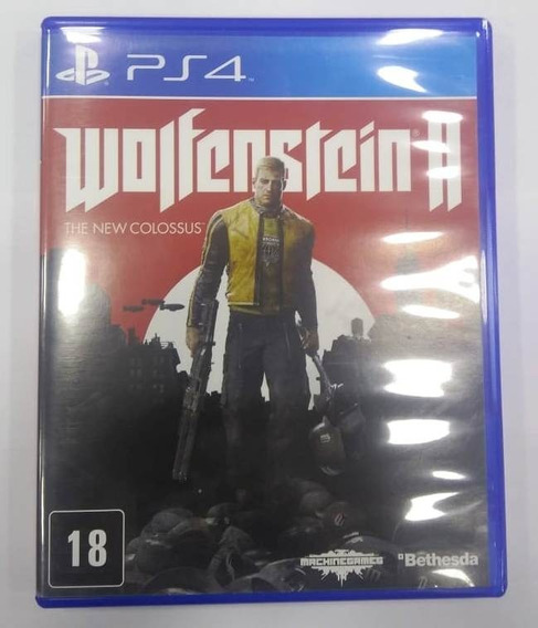 Game Ps4 Wolfenstein 2 :the New Colossus - Usado - Excelente