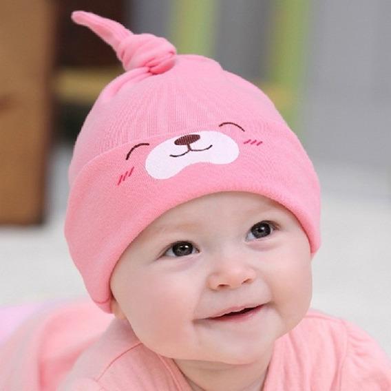 Touca De Bebês -malha 100% Algodão,estilo Soneca