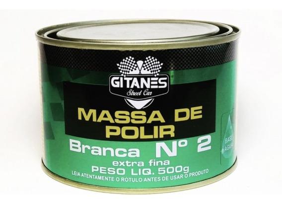 05 Unidades Massa De Polir Gitanes 500 Gramas