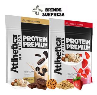 2x Whey Protein Premium 1,8kg - Total 3,6 Kg - Atlhetica