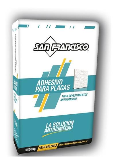 Adhesivo Para Placas En Polvo San Francisco Original
