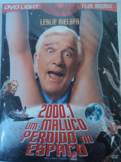 Dvd-2000.1 Um Maluco Perdido No Espaço:leslie Nielsen:filme