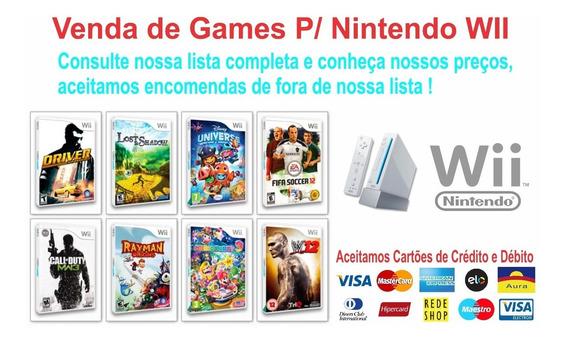 17 Patch De Jogos Wii A Sua Escolha Nintendo Wii