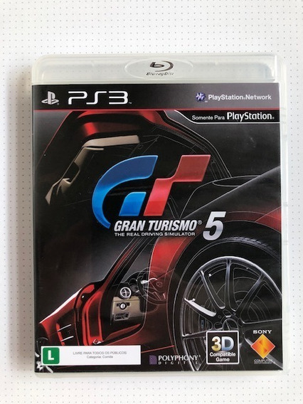 Gran Turismo 5 Ps3 Playstation 3 Original Mídia Física