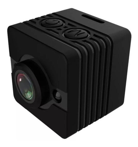 Mini Câmera Sq12 Full Hd Mais Cartão De Memoria 32 Gb