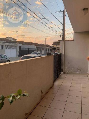 Casa Com 3 Dormitórios À Venda, 90 M² Por R$ 480.000 - Vila São Jorge - São Vicente/sp - Ca1264