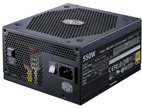 Fonte Atx V550 80 Plus Gold Full Modular Cooler Master