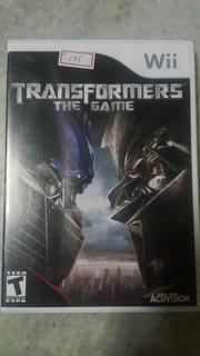 Nintendo Wii Transformers The Gama Original American Lote175