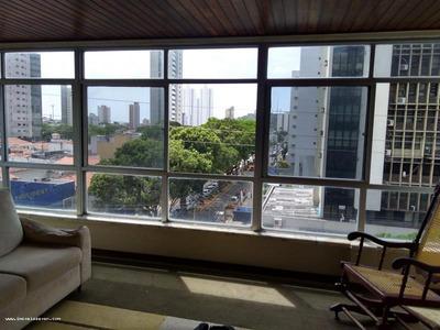 Apartamento Para Venda Em Natal, Petrópolis, 5 Dormitórios, 2 Suítes, 4 Banheiros, 2 Vagas - 1088651