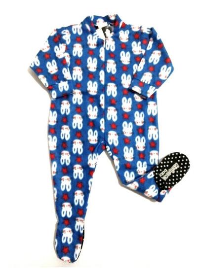 Macacão Pijama Infantil Em Soft Masculino, Super Quentinho