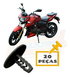 Bucha Para Barro Traseiro Moto Dafra Apache 200cc 20 Peças