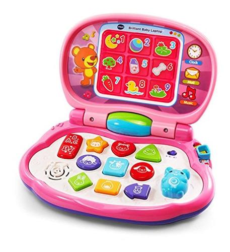 Laptop Para Bebé Color Rosa