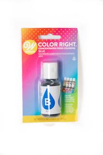 Colorante Concentrado Alimentario, Color Right Azul- Wilton