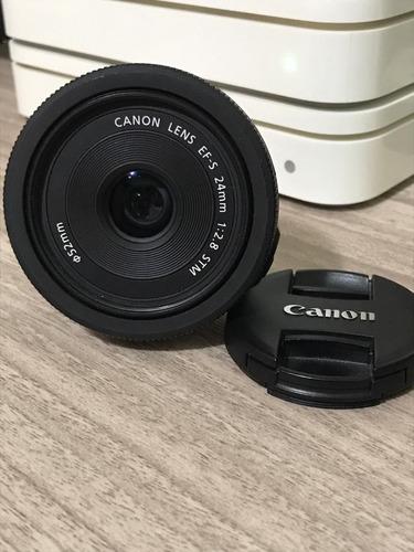 Lente Canon Ef-s 24mm F/2.8 Stm Oficial