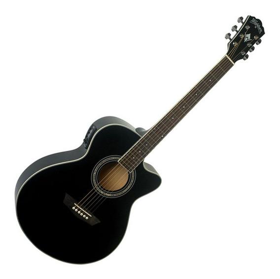 Guitarra Electroacustica Washburn Ea12b