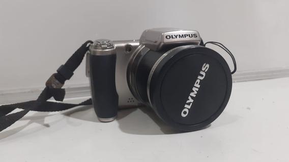 Camera Digital Olympus Sp-800uz Completa + Bolsa C/ Defeito