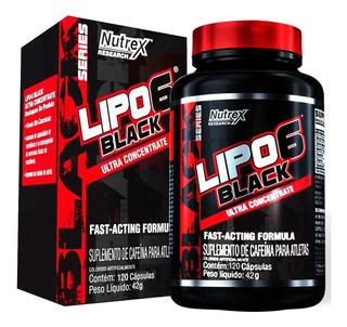 Lipo 6 Black Ultra Concentrate 120cáps - Nutrex