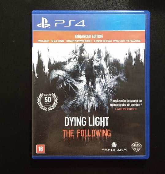 Dying Light - The Following - Playstation 4