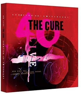 The Cure 40 Live Curaetion 25 Anniversary Blu-ray Doble+ 4cd