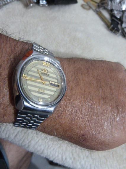 1 Relógio Orient Aut. Masc. Mod.cn469mb7-9zpy Cx 37 X 42 M