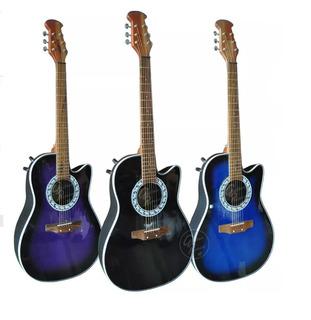 Guitarra Tipo Ovation Electroacústica Colores Varios
