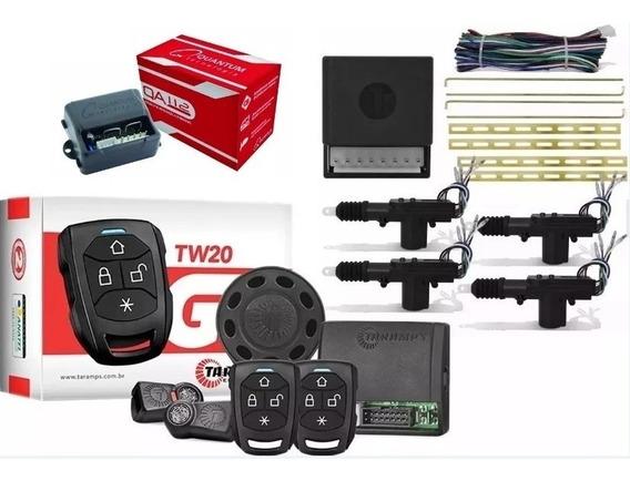 Alarme + Trava Elétrica + Módulo Vidro 2 Portas Fiat Palio