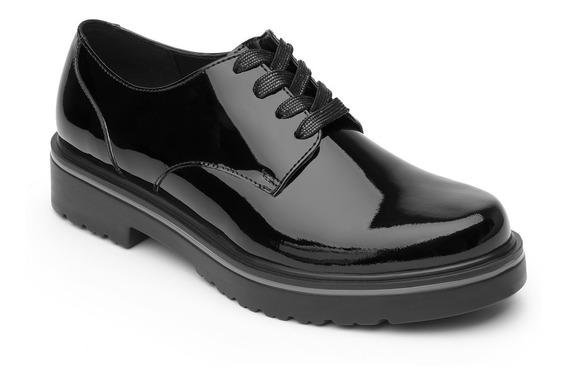 Zapato Charol Flexi Dama 32901 Negro