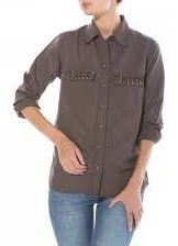 Lee Camisa Regina Shirt Con Tachitas Promo