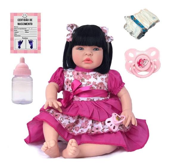 Boneca Bebe Reborn Completa Siliconad Mais Barata Linda