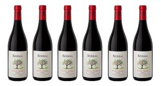 Vino Serbal Pinot Noir Caja X 6 X 750ml. - Envíos